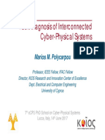 Diagnosis of Cyber physical systems