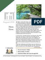 Eagle newsletter - August 2018