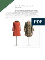 Vestidos de Balenciaga y de Pertegaz 2