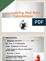 Conquering Medical Math(1)