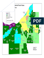 Revaluation Impact on Residential Parcel Values - Cuyahoga County