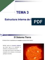 Tema 3 Estructura de La Tierra