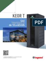 Brochure_keor_t_es 3f 10 Kva - 60 Kva