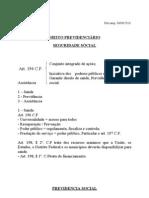 MATERIA DE PREVIDENCIARIO..