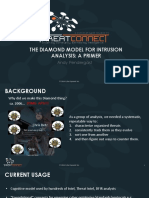The Diamond Model for Intrusion Analysis a Primer -  Andy Pendergast