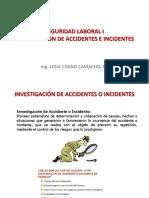 6. Investigación de Incidentes y Accidentes