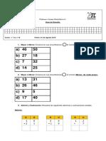 Guia de Estudio Primero Basico Números Ordinales.