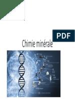 Chimie minérale