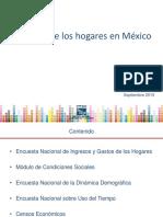 Ingresos de Los Hogares en México