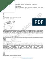 Lista de Exercicios de Matematica 2 Ano 3 Bim