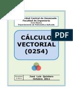 Cálculo Vectorial (0254) - José Luis Quintero Dávila