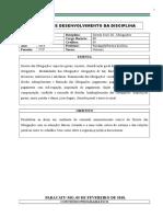 PDD -  Direito das Obrigações - 3º Período.doc