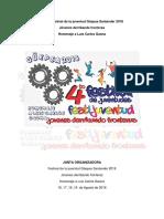 Cuarto Festival de La Juventud Güepsa Santander
