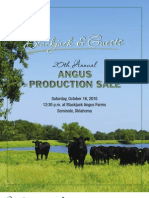 Blackjack & Guests 20th Annual Angus Production Sale Catalog 2010