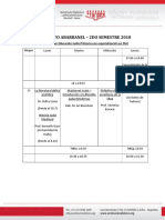 Abarbanel Maarejet Shaot 2°- Cuatrimestre 2018 -