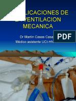 8_complicaciones de La Ventilacion Mecanica