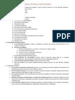 Derecho Procesal Constitucional - 2do Examen