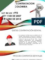Contrtacion Estatal Colombiana