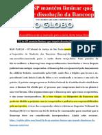 Grupo Da Mooca Suspende Assembléia Da Bancoop Por Liminar