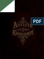 Artistic Embroide 1880 Chur
