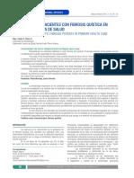 Kinesiología en Pacientes Con Fibrosis Quística en Atención Primaria de Salud