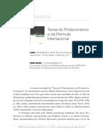 MANOILESCO - Teoria Do Protecionismo