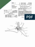 Hydrofoil - US4721394