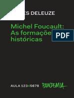 Foucault:As formações históricas