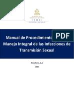 Manual de Procedimientos para el Manejo Integral de las Infecciones de Transmisión Sexual