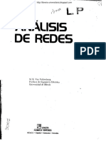 Análisis de Redes - M. E. Van Valkenburg