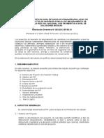 Contenidos Especificos PIP Mejoramiento de Carreteras de La Red Vial Nacional RD003 2012