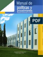 Manual de políticas y procedimientos de la Residencia Universitaria de Varones