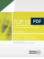 Top 10 Content Management