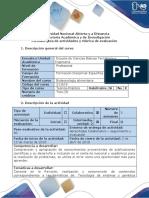 Guia de Actividades y Rubrica de Evaluación - Fase 4 - Desarrollar Trabajo Colaborativo 2