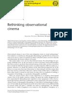 [GRIMSHAW, A.; RAVETZ a.] Rethinking Observational Cinema