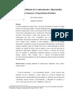 Produção Partilhada do Conhecimento- Hipermídia, Texturas Sonoras e Experiência Estética