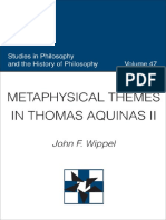 [John F. Wippel] Metaphysical Themes in Thomas Aquinas