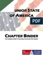JSA Chapter Binder