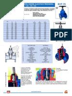 Especificacion Válvula Compuerta BVP-70 _PROINVAL