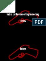 Intro Reverse Engineering