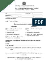 Formulario Requerimento de Certificado de Aprovacao Exame de Ordem 16-05-18