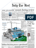 The Daily Tar Heel for October 1, 2010