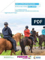 Guia de Implementación de La Nts-Av014. Operación de Actividades de Cabalgata