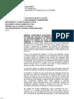 Acórdão - TRT 15 - Relator Dr. Jorge Luiz Souto Maior - Assistência Jurídica Gratuita