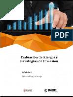 Evaluación de riesgos y estrategias de inversion MBA