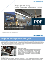 Renice SSD Storage Device for Public Transportation Passenger Information System