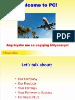 Welcome Bagong Ka-PC! (Biyaheng Milyonaryo)FINAL (1)