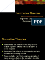 Normative Theories