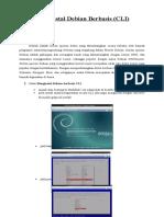 Menginstal Debian Berbasis Cli