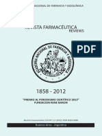 Revista Farmacéutica 154- 2012